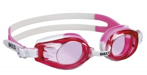 Beco schwimmbrille RiminiPolycarbonat Mädchen rosa/weiß