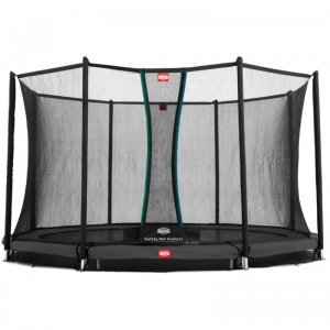 BERG trampoline InGround Favorit met net 330 cm grijs