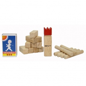 BEX Mini Kubb Rubber Wood