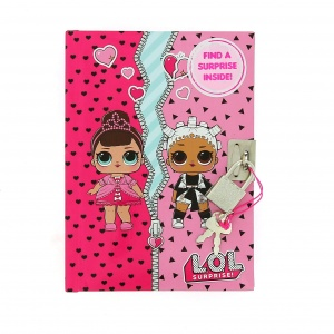 Blueprint Collections L.O.L. Surprise diary with lock 15,5 cm