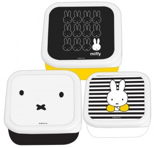 Blueprint Collections snack box set Miffy 3-part