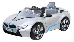 BMW i8 battery 12V car silver