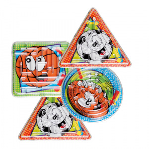 Boland maze Games Maze Games 6cm junior 4 pcs
