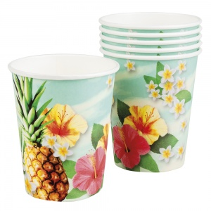 Boland party cups Paradise6 pieces 25 cl