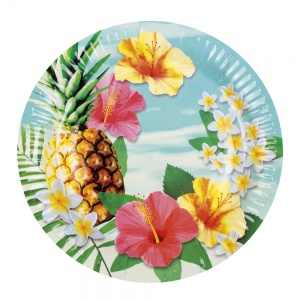 Boland party boards Paradise6 pieces 23 cm