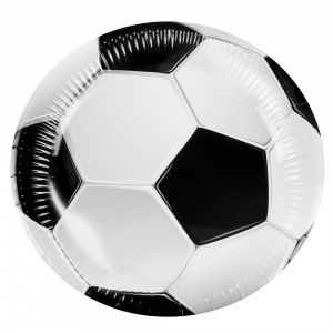 Boland party boards football 6 pieces 23 cm