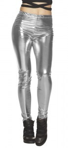 Boland leggings Glance ladies silver