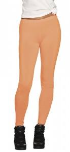 Boland opaque legging dames neonoranje