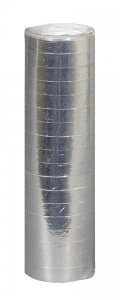 Boland serpentine 1 roll 400 cm metallic silver