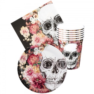 Boland table package Day of the Dead 24-part