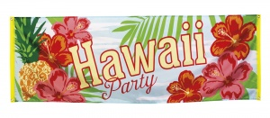 Boland banner Hawaii Party 220 cm