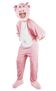 Boland adult suit Pig mascot