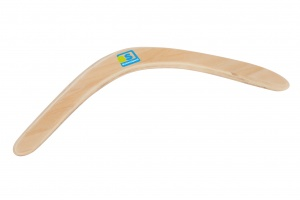 BS Toys boomerang wood 39.5 cm clear