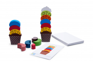 BS Toys Ice Cream Creations Multicolor 47 x 11,4 x 47 cm 55 pieces