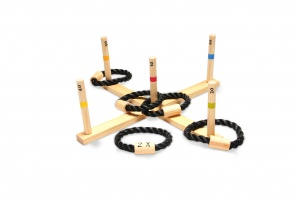 BS Toys ring throw wood 50 cm blank