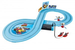 Carrera First racebaan Mickey Roadster Racers D-Duck 290 cm
