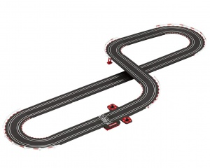 Carrera GO! racing track set Race to Win 430 cm black