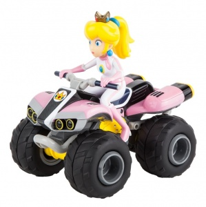 Carrera Mario Kart quad Peach RC roze 1:20