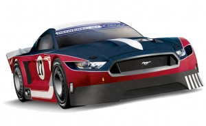 Carrera voiture sur rails Digital 132 Ford MustangGTY No. 17 1:32