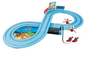 Carrera racing track set First Paw Patrol240 cm blue