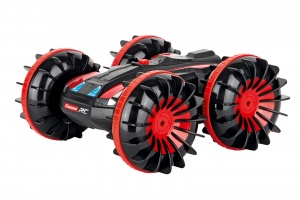 Carrera RC 2,4GHz All-Terrain stuntauto 1:16 zwart/rood
