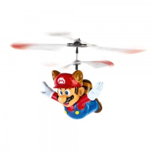 Carrera Super Mario Flying raccoon