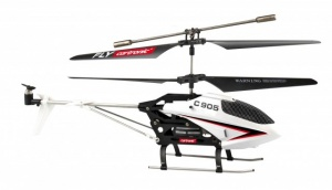Cartronic RC Helikopter C905 24 cm wit/zwart