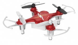 Cartronic quadcopter Q12S 7,7 x 7,7 cm rot / weiß