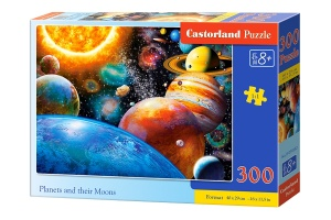 Castorland Jigsaw Planets and their moons 300 Stück