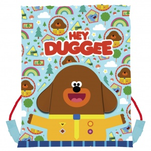 CBeebies gymtas Hey Duggee junior 30 x 40 cm multicolor