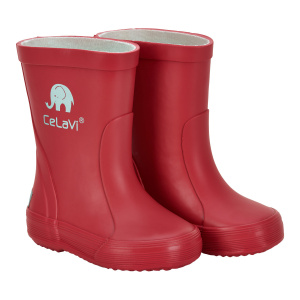 CeLaVi regenstiefel Wellies Junior Gummi bordeaux