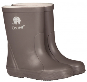 CeLaVi regenstiefel Wellies Junior Gummi grau