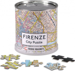 Channel Distribution magnetpuzzle City Puzzle Firenze 100 Teile