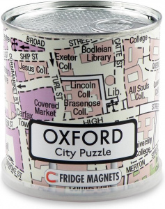 Channel Distribution magnetpuzzle City Puzzle Oxford 100 Teile
