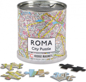 Channel Distribution magnetpuzzle City Puzzle Roma 100 Teile