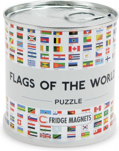 Channel Distribution magnetisches Puzzle Flags of the World100 Teile
