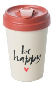 Chic.Mic drinkbeker BambooCUP* Happy Calligraphy 400 ml