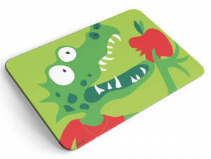 Chic.Mic breakfast board animal friends 23,5 x 14,5 cm vert