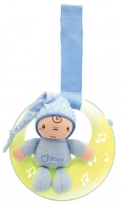 Chicco projector Goodnight Moon jongens blauw 19 x 20 x 8 cm