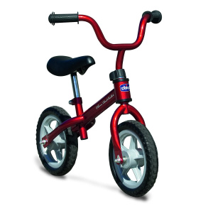 Chicco Red Bullit loopfiets 10 Inch Junior Rood
