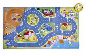Chicco speelmat Electronic City junior 110 cm 2-delig