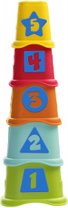 Chicco stapeltoren Smart2Play 2-in-1 junior 36 cm 5-delig