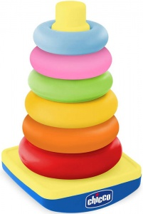Chicco Tuimelring Pyramide 26 cm 7-delig