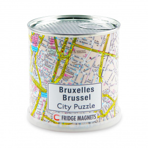 Channel Distribution legpuzzel City Puzzle Brussel 100 stukjes