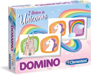 Clementoni domino Unicorns 28 kaarten junior