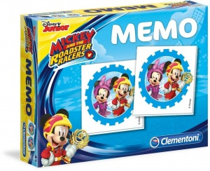 Clementoni memory Mickey and the Roadster Racers