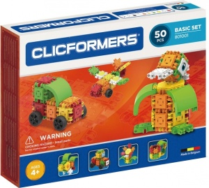 Clicformers basic set 50-piece
