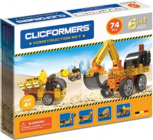 Clicformers construction kit 74-piece
