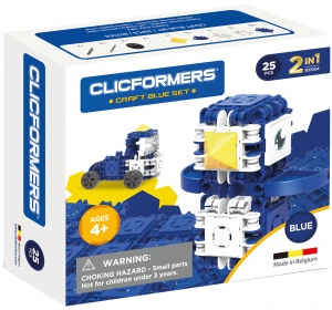 Clicformers Craft Blue-set 2-in-1 (807003) 25-piece