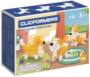 Clicformers dog set Sweet Friends74-piece (806001)
